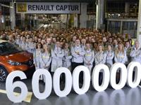 La planta de Renault en Valladolid alcanza su unidad seis millones