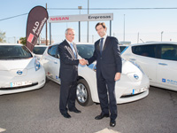 ALD Automotive incorpora el Nissan Leaf a su oferta de Car Sharing Corporate