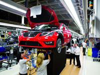 Aumenta el número de coches fabricados en España en 2013