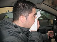 Las alergias, motivo de un 5% de los accidentes en primavera