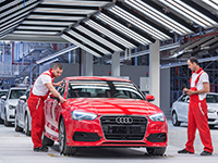 Audi incrementa sus ventas en el mejor trimestre de su historia