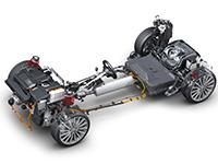 Audi trabaja en la recuperación de energía mediante los amortiguadores