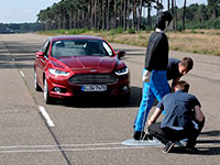 El nuevo Ford Mondeo estrena sistema de detección de peatones