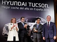 Hyundai Tucson, Coche del Año en España
