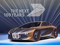 BMW celebra su centenario con el Vision Next 100