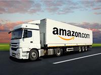 Amazon patenta una carretera que se comunica con coches autónomos