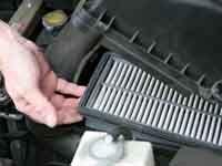 ¿Cúando cambiar el filtro del aire del coche?