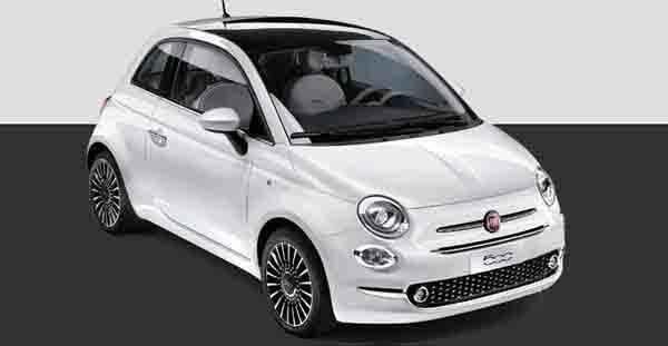 Oferta renting Fiat 500 Autogas