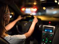 Recomendaciones para conducir durante la noche