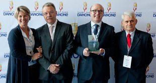 Danone otorga a ALD Automotive el premio al proveedor con la mejor calidad de servicio