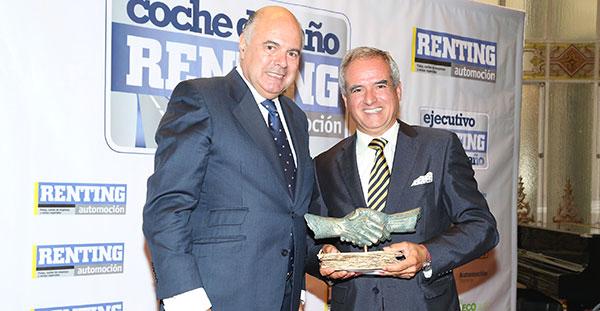 Pedro Malla, Director General de ALD, elegido Mejor Ejecutivo del Sector de Renting