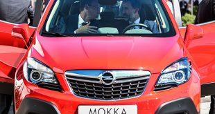 Producción del primer Opel Mokka español