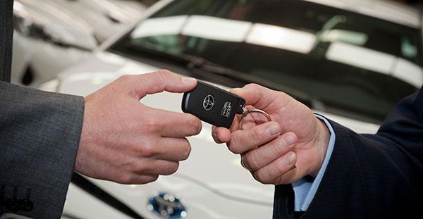 Uno de cada tres vehículos matriculados por empresas es de renting