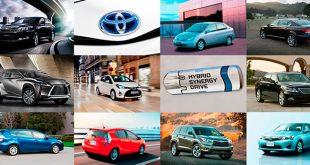 Toyota comercializa su unidad híbrida número siete millones