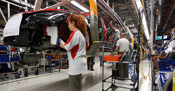 2014, el año de la consolidación de España como fabricante de automóviles