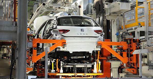 ALD Automotive visita la fábrica de Seat en Martorell