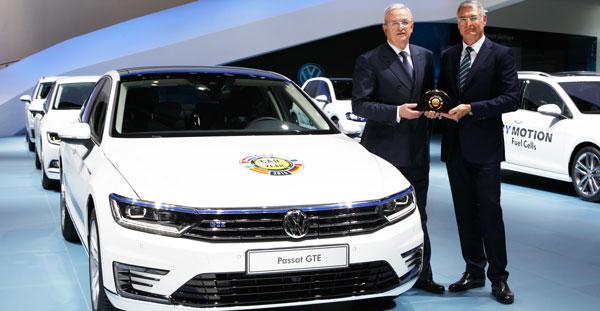 El Volkswagen Passat, Coche del Año en Europa 2015