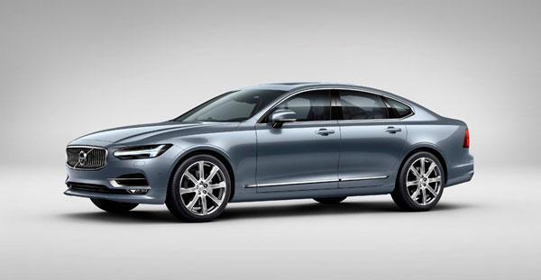Volvo apuesta por los sedanes Premium con el lanzamiento del nuevo S90