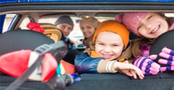 La seguridad vial de los menores durante las navidades