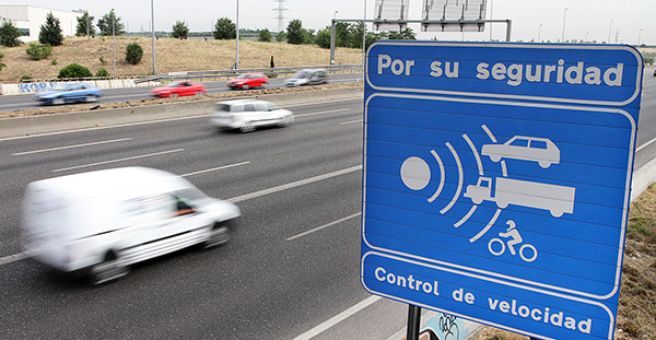 Controles de radar DGT