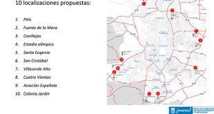 Madrid creará aparcamientos conectados con el transporte