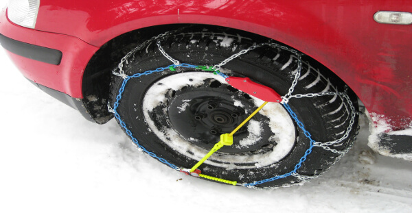 consejos para colocar las cadenas de nieve ALD Automotive