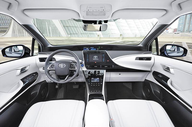 Toyota Mirai, interior
