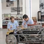 Trabajos en Ferrari clasicos