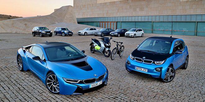 Los eléctricos de BMW, líderes en ventas