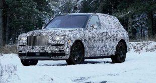 Rolls-Royce apuesta por los SUV con el Cullinan