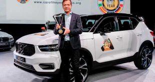 Volvo XC40, Coche del Año en Europa