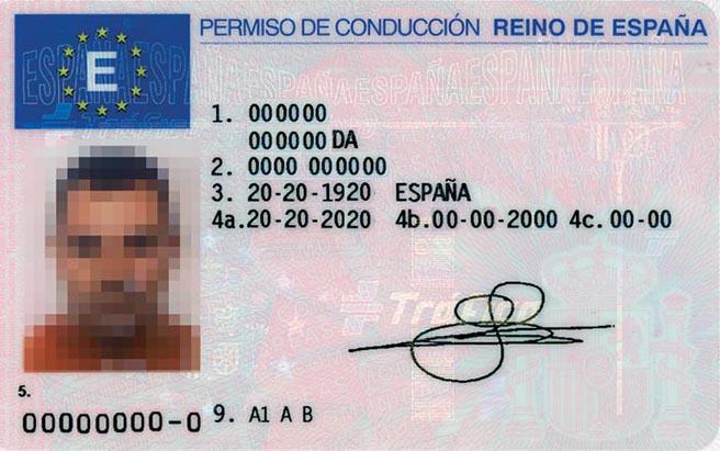 permiso de conducir, España