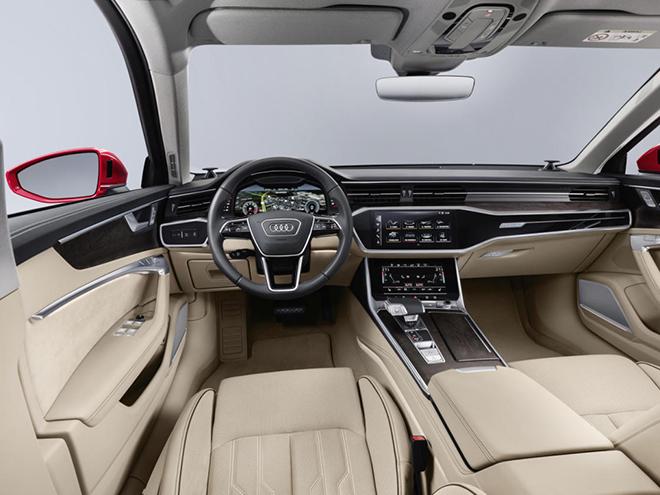 Interior nuevo Audi A6