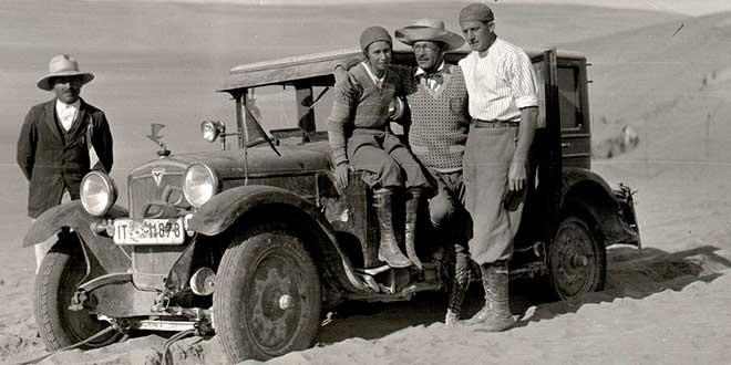 Clärenore Stinnes, primera persona en efectuar una vuelta al mundo en coche