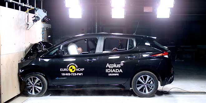 El Nissan Leaf obtiene las 5 estrellas de EuroNcap
