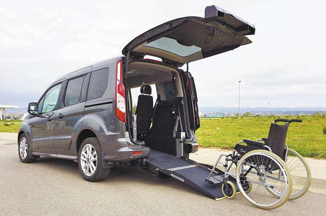 Ford coches adaptados para movilidad reducida