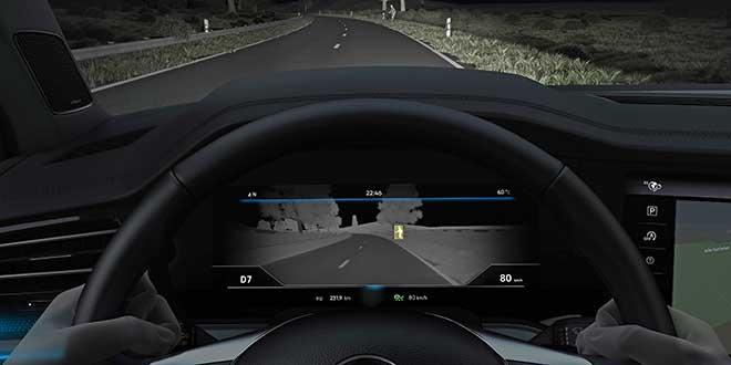Volkswagen estrena un modo de visión nocturna
