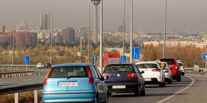Los vehículos más contaminantes no circularán en Madrid a partir de noviembre