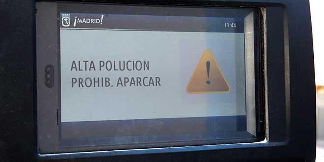 Restricciones tráfico Madrid