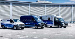Comerciales eléctricos Mercedes-Benz
