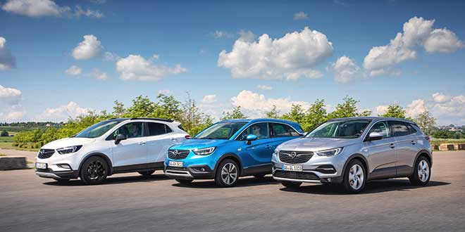 Gama SUV Opel