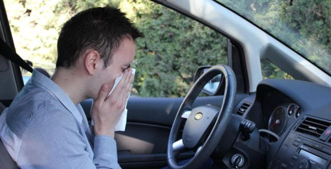 combatir alergias al volante