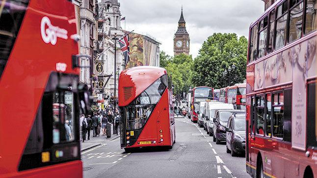 Londres tráfico
