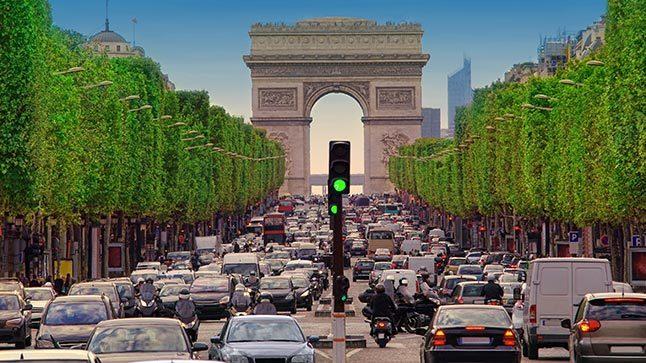 Paris trafico