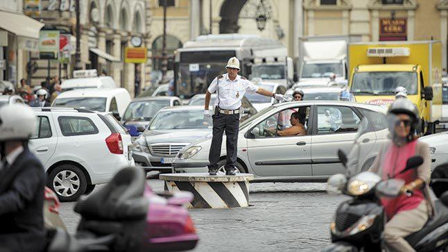 Roma tráfico
