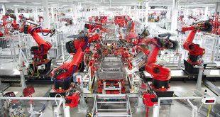 Producción del Tesla Model 3