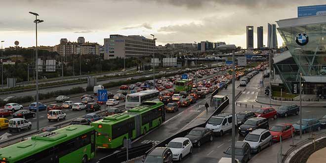 ¿Cuál es la ciudad española con más atascos?