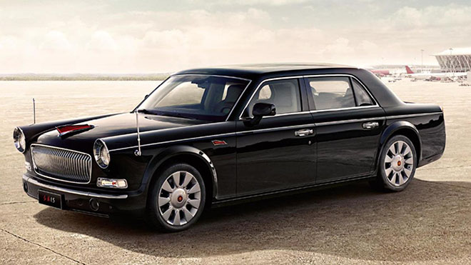 Hongqi L5 del presidente de China