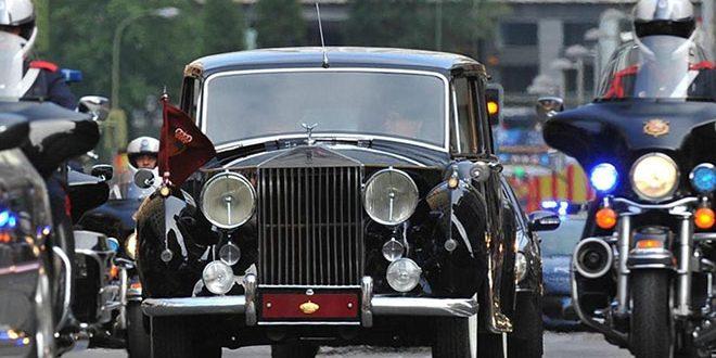 Rolls Royce Phantom IV, España