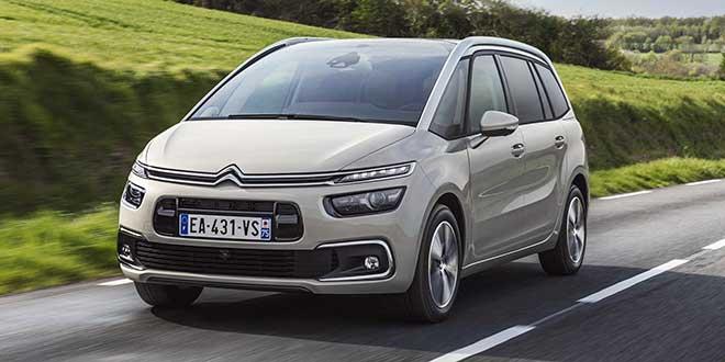 Citroën renueva la gama de motores de su Grand C4 Space Tourer